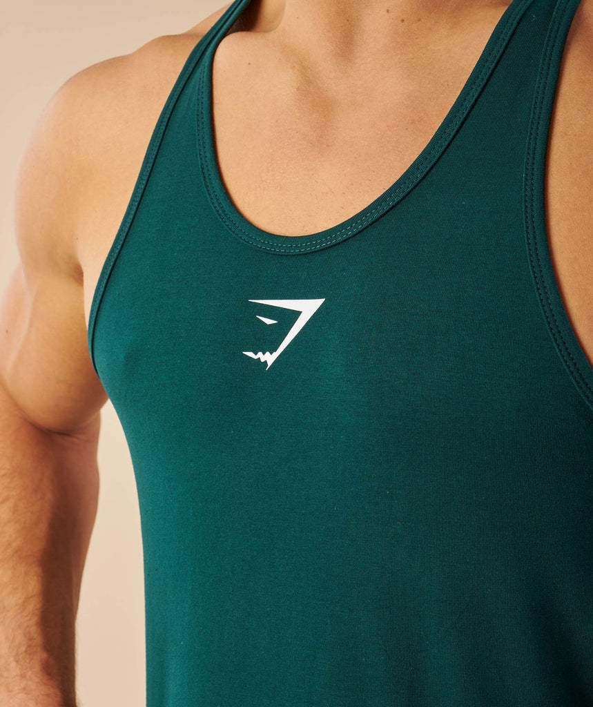 Gymshark Ion Stringer - Forest Green 5