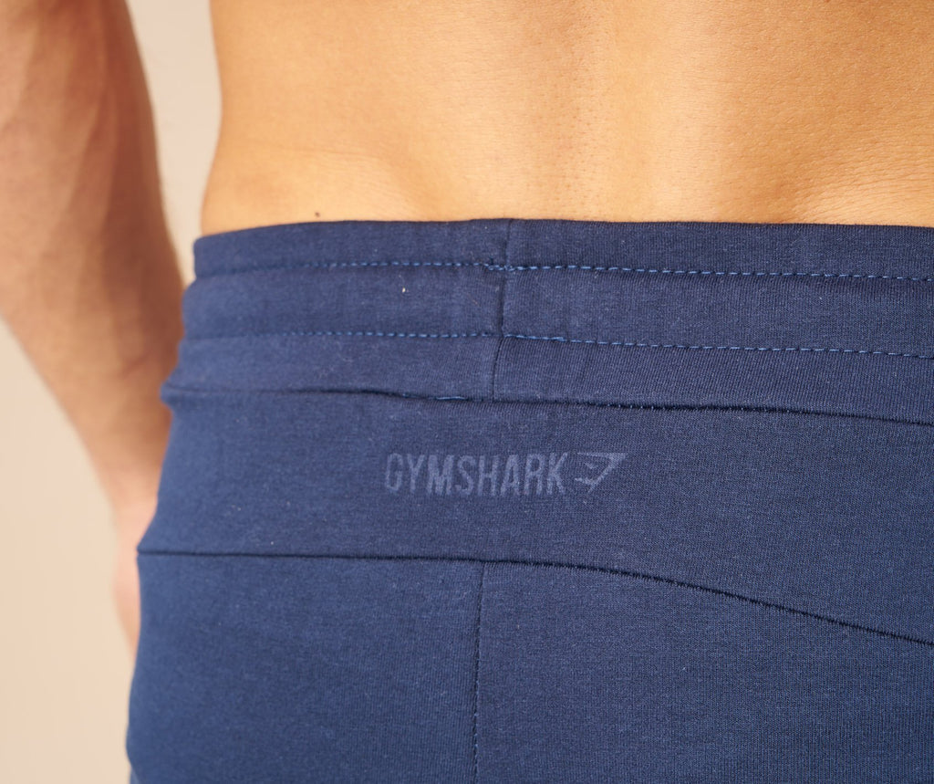 Gymshark Fit Tapered Bottoms - Sapphire Blue 6