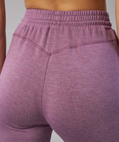 Gymshark Solace Bottoms - Purple Wash Marl 12