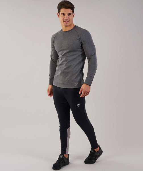 Gymshark Oversized Sweater - Charcoal Marl 4