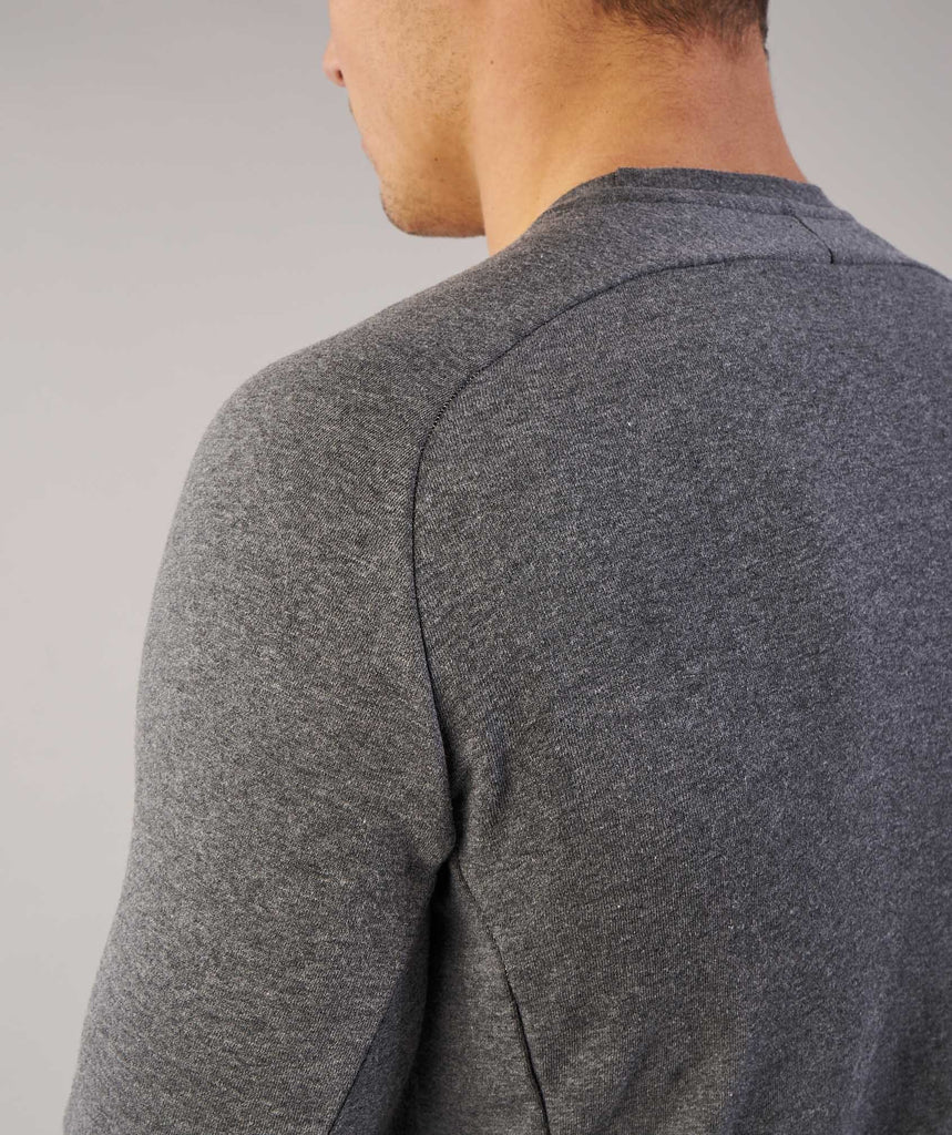 Gymshark Oversized Sweater - Charcoal Marl 5