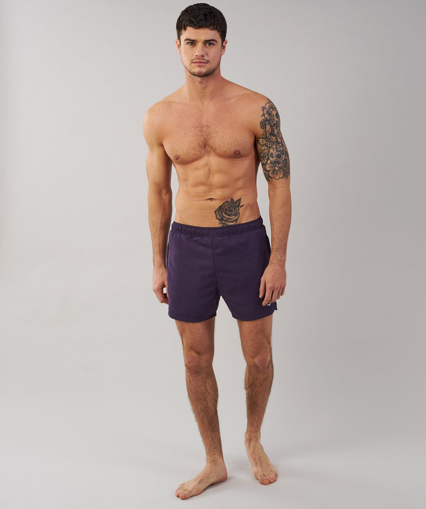 Gymshark Atlantic Swimshorts - Nightshade Purple 4