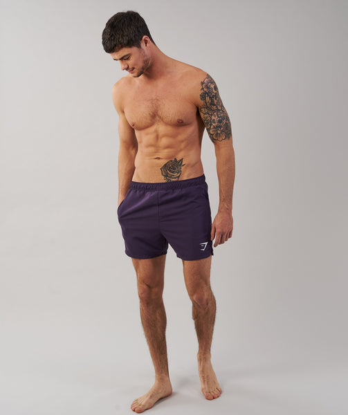 Gymshark Atlantic Swimshorts - Nightshade Purple 3