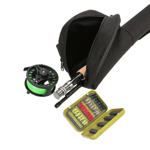 Lixada Fly Fishing Bundle: Rod, Reel, Flies, and Case