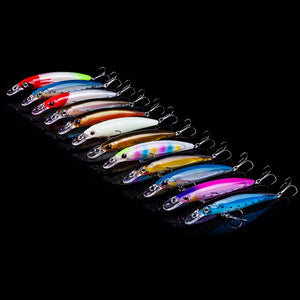 Luminous Jerk Bait Set 10pcs