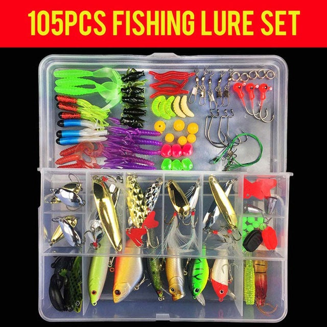 Complete Mixed Hard + Soft Lure Collection-Kaynens