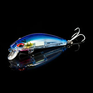 Light Up Crankbait Wobbler 7cm