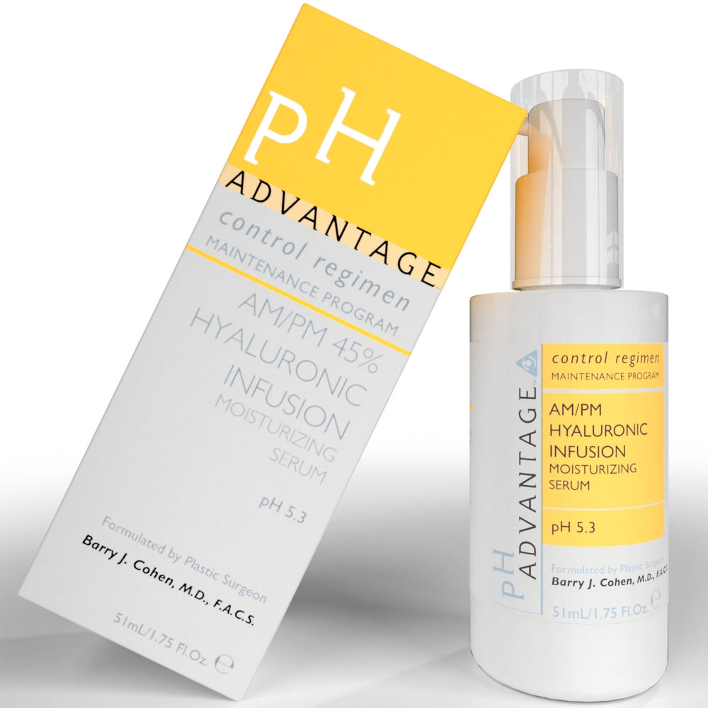AM/PM Hyaluronic infusion - Anti Aging Facial Moisturizer for Intense Skin Hydration