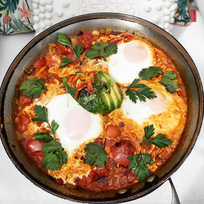 Shakshuka Tutorial with Personal Chef Lisa - Recipe
