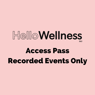Access Pass - Recorded Events