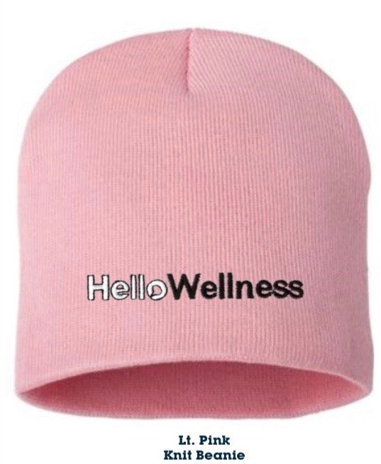 HelloWellness Holiday Beanie