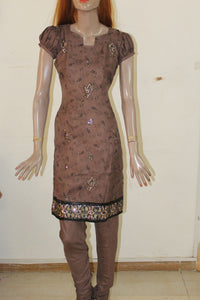 Brown Girls Indian Salwar Kameez Churidar Chest Size 34