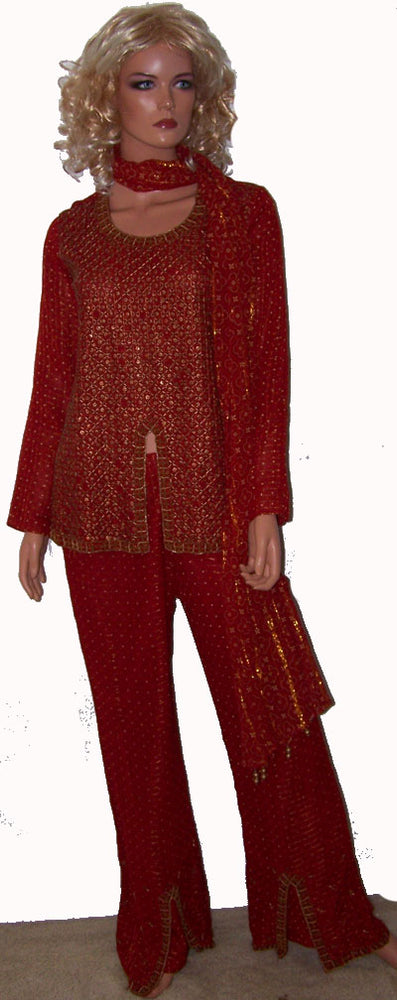 Load image into Gallery viewer, Burgundy Pant Suit
