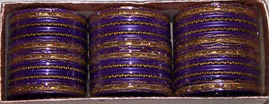 Purple Indian Bangles