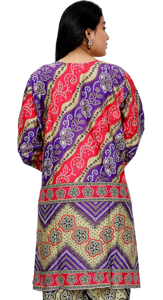 Load image into Gallery viewer, Printed Cotton Salwar kameez Dress Plus Size 48