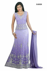 Purple Indian Lehanga Choli