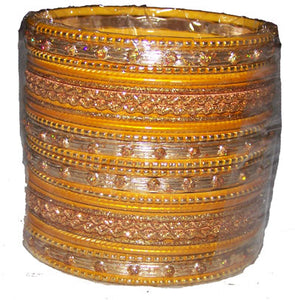 Yellow Indian Bangles