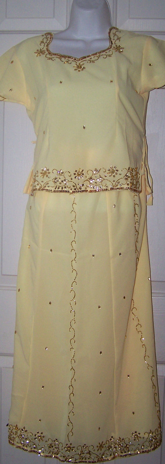 Yellow Girl Lehanga Choli All sizes