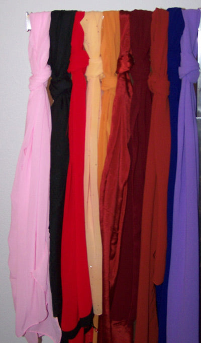 Solid Color Shawls
