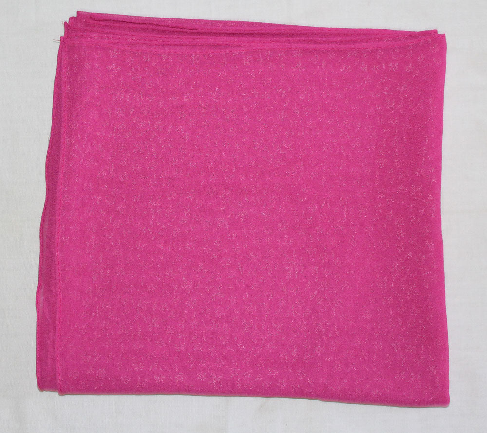 PInk 1 Solid Color Hijab Scarves Daily Wear