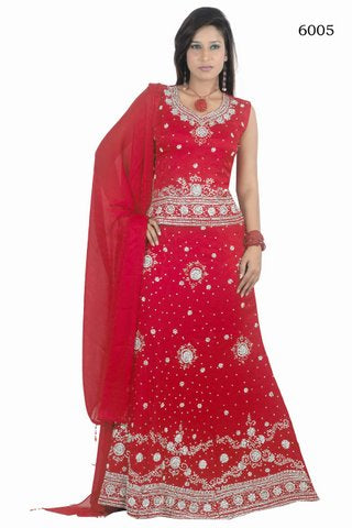 Red Indian Bridal Lehanga Choli