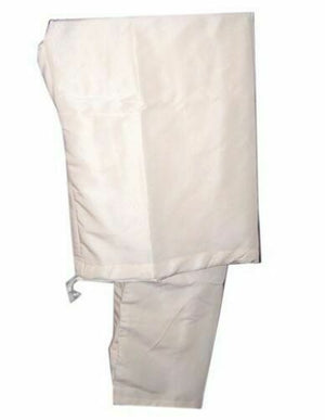 Cream Indian Men Kurta Pajama Traditional  Free Shawl XXLarge
