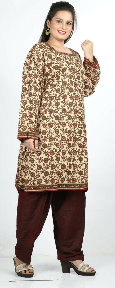 Floral print Cotton Summer  Salwar Kameez Plus chest 58  Stitched Ready to Wear