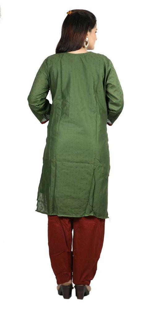 Green  Boutique Wedding Summer New Stitched Designer salwar kameez  Plus size 48