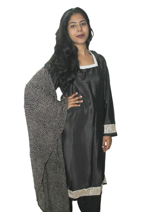 Load image into Gallery viewer, Grey  New Full sleeves Salwar kameez Kurta Dupatta pakistani Chest  Size 48