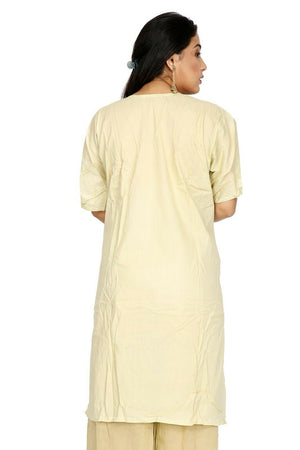 Load image into Gallery viewer, Light Yellow Cotton Summer  salwar kameez  Plus size 56 Boutique New arrivals