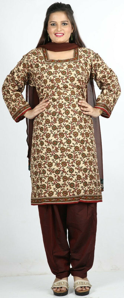 Load image into Gallery viewer, Floral print Cotton Summer  Salwar Kameez Plus chest 58  Stitched Ready to Wear