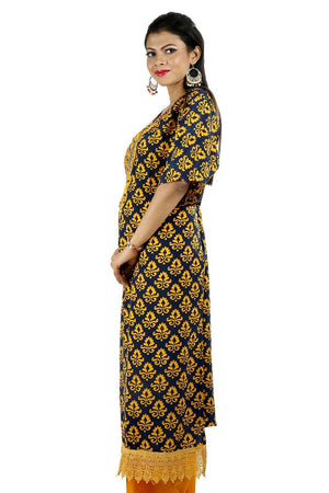 Load image into Gallery viewer, Yellow Soft Crepe Women Favorite Dress  salwar kameez Plus size 56 New arrivals