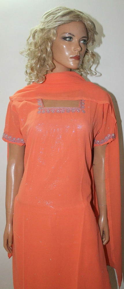 New Melon  Bollywood Shinny Collections Wedding  Salwar kameez Chest  Size 42