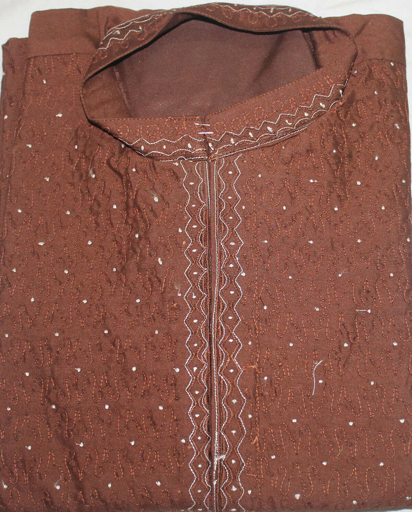 Brown Boys Kurta payjama sherwani  Set Indian Wedding Partyl age 10