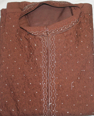 Load image into Gallery viewer, Brown Boys Kurta payjama sherwani  Set Indian Wedding Partyl age 10