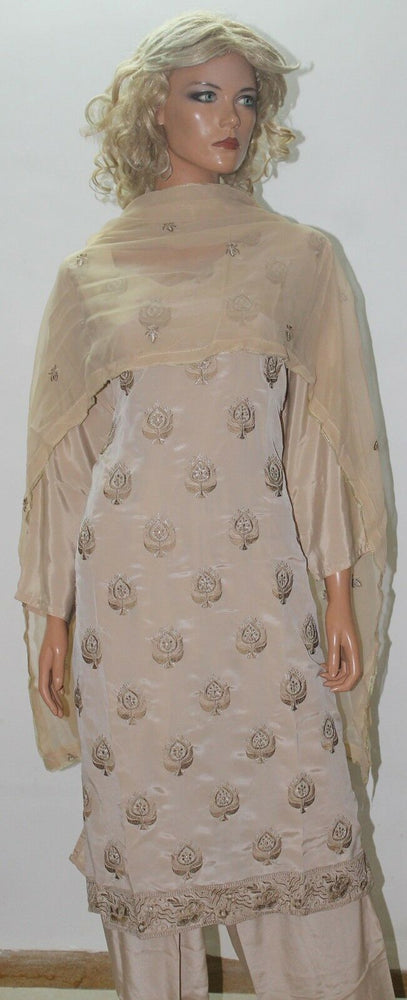 Beige Indian Wear salwar kameez  Suit Plus size 50