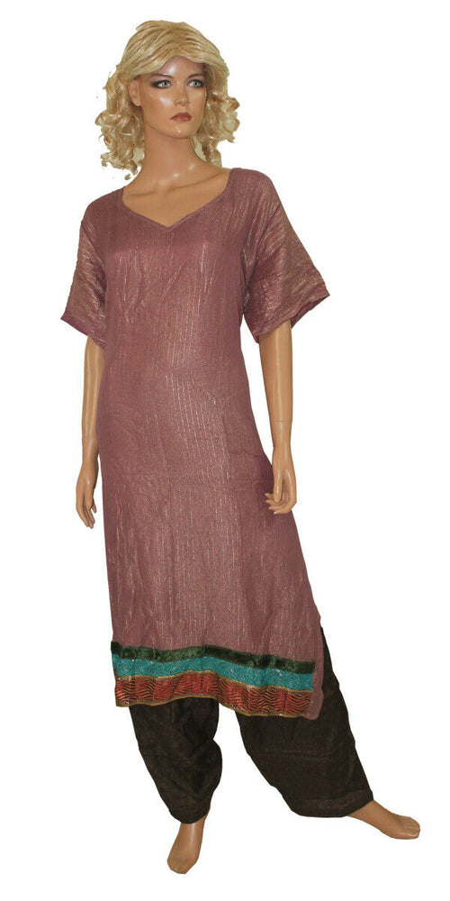 New Colors Bollywood Shinny Collections Wedding  Salwar kameez Plus Size 56