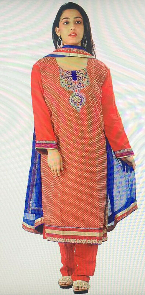 Load image into Gallery viewer, Designer  Salwar kameez Dress plus size 52