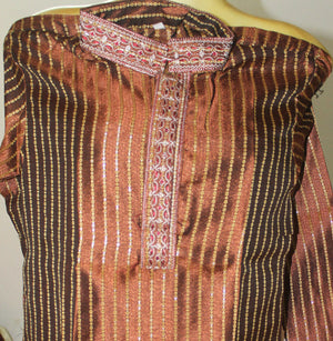 Brown Boys kurta Pajama set Size Age 1,2,3,5,6,7,8,9,11