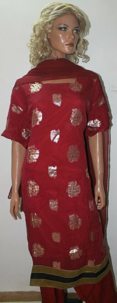 Pink Shinny Short   sleeves  ladies Salwar kameez dress Plus Chest  size 58