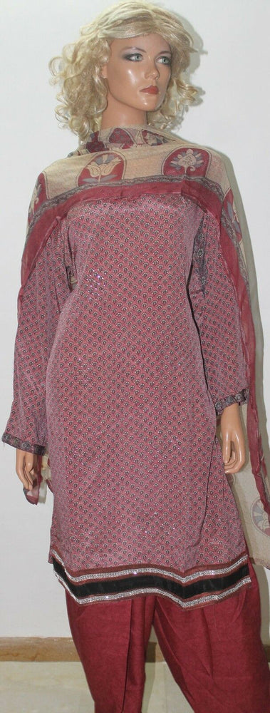 Load image into Gallery viewer, Dusty Pink Dress suit plus size 50 Designs By Inayah