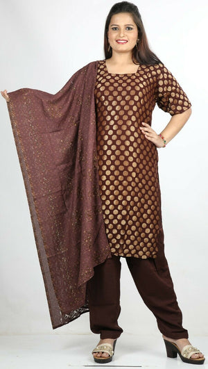 Maroon  Designer Ready Made Salwar Kameez  chest 44 Short sleeves Fast ship New