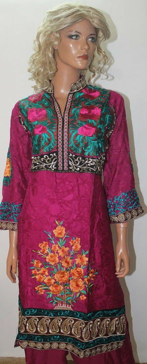 Pink Salwar Kameez Designer Wear chest size 46