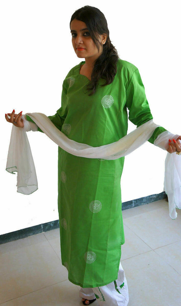 Load image into Gallery viewer, Cotton  Salwar kameez Chest 44