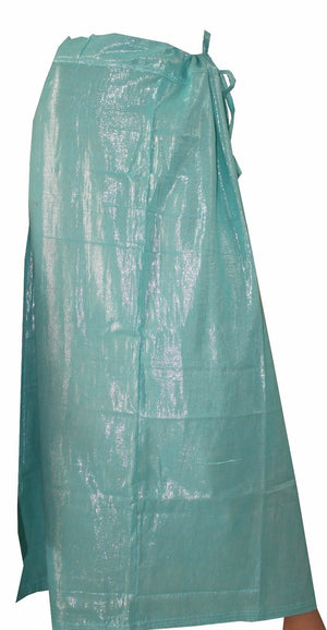Load image into Gallery viewer, Blue   Luxurious Shimmer skirt  Petticoat Underskirt belly dancing  slip