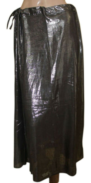 Load image into Gallery viewer, Black shimmer Indian saree Petticoat Underskirt belly dancing Lehanga slip SALE