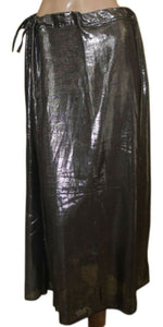Black shimmer Indian saree Petticoat Underskirt belly dancing Lehanga slip SALE
