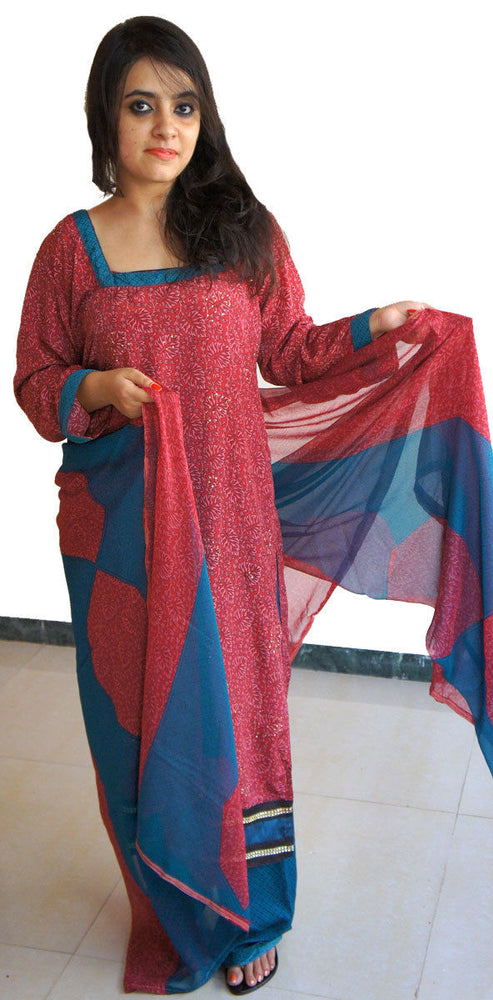 Load image into Gallery viewer, Printed Full sleeves Salwar kameez Festival arrivals chest size 42