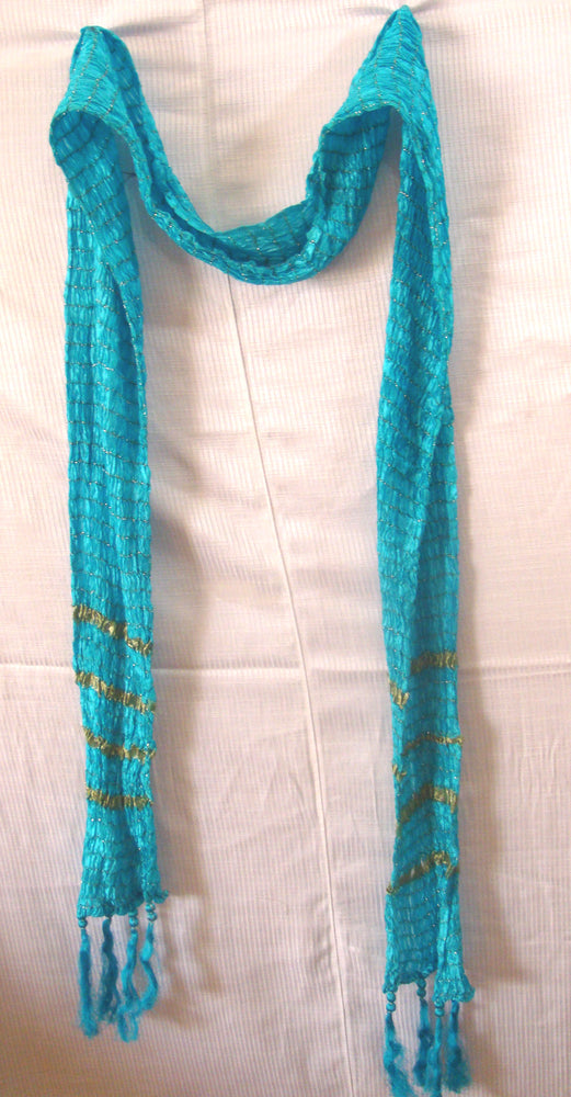 Blue Mens Shawl
