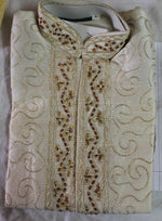 white  Boys Kurta sherwani set for  Age  2 & 8